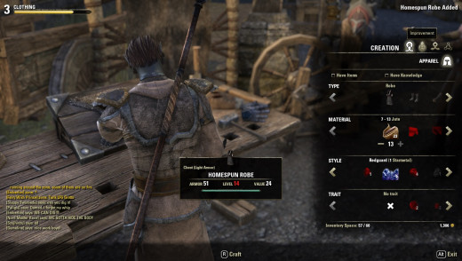 Eso Crafting Higher Level Items