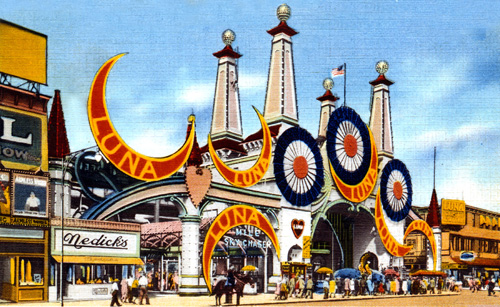 The Surf Avenue Entrance to Luna Park.