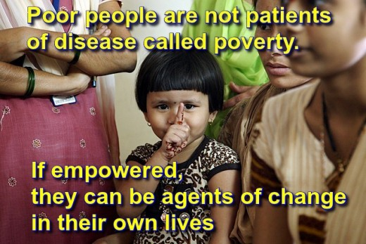 Over 1 Billion People Live below $1.25-a-day poverty line.