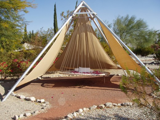 Zero Gravity Swing at We Care in Desert Hot Springs