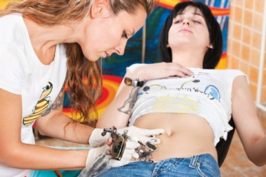 What are some stereotypes for tattoo/piercing shops(parlors)?
