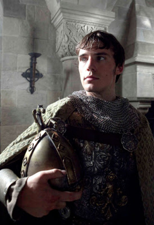 A youthful Robert - he went to war with his father for the dukedom of Normandy and unseated him in battle. He would have killed his father without knowing who he was before the old man raised his helmet