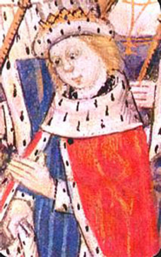 Edward IV came back to reclaim his crown so that his son, Edward V, would become king one day.