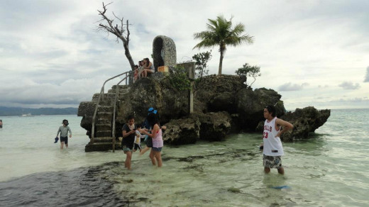 A Grotto in Boracay Beach