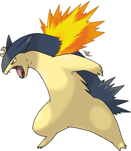 Typhlosion by Xous54 on Deviantart