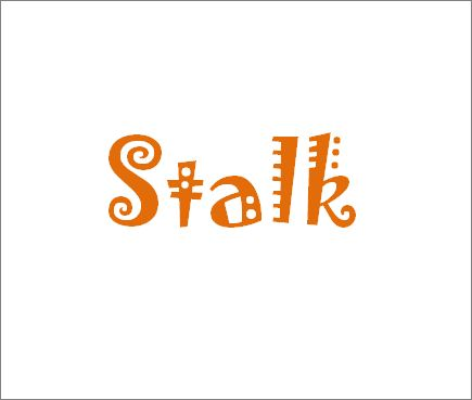 Dictionary.com | Stalk [stawk] : to pursue someone stealthily