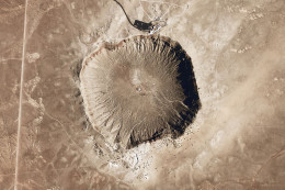 Meteor Crater, Arizona where Moissonite was first discovered