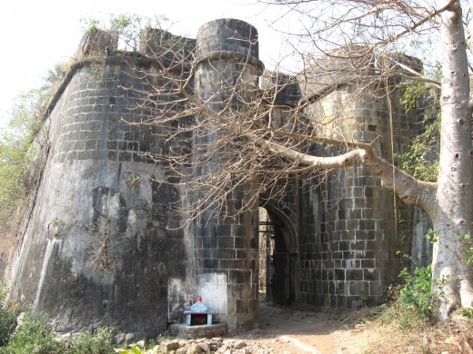 The Bassein Fort is a fort near Vasai, just north of Mumbai on the mainland just north of the Bombay archipelago.