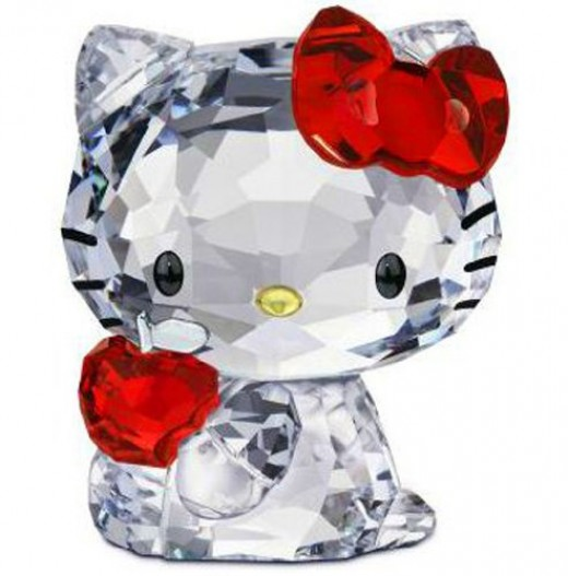 Swarovski Hello Kitty Red Apple