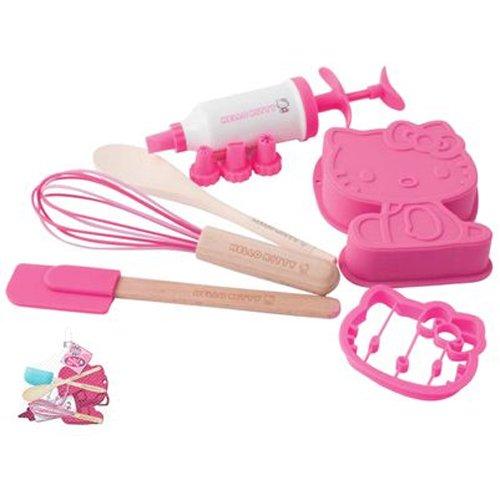 Hello Kitty Kids Baking Set - 6 Piece Set