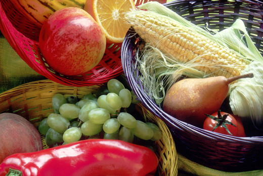 Pick healthy food. You will save money on health costs.