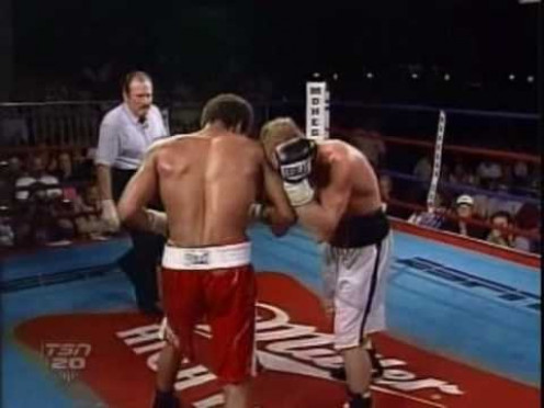 Emanuel Burton and Mickey Ward fought a fight of the year type battle in 2001.