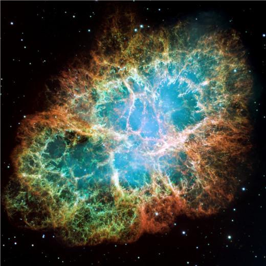 Supernova Crab-nebula