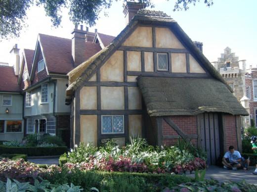 A German cottage
