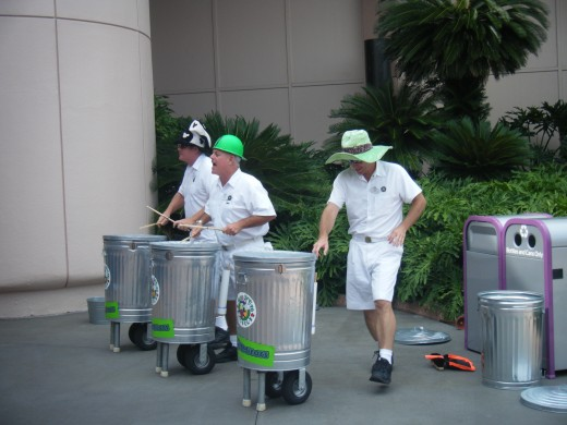 The Jaminators perform thought EPCOT