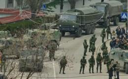 Russia seizes Crimea