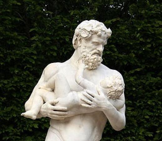 Silenus and Dionysus