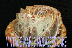 Vintage Maple Molasses Cake