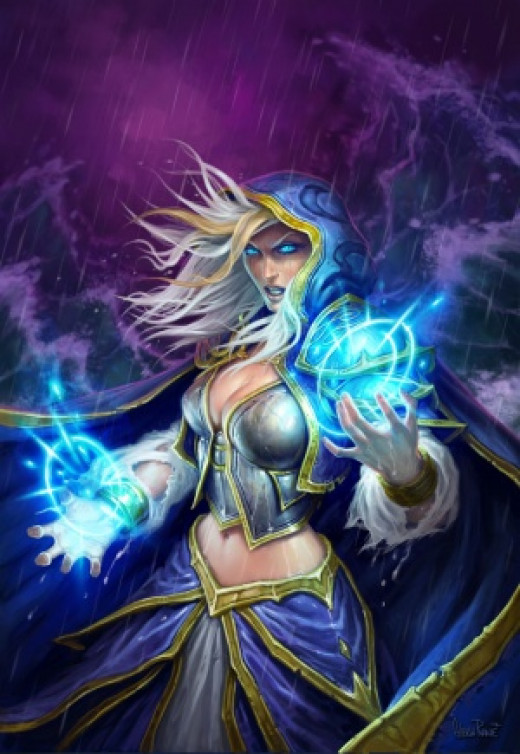 Jaina is an exceptionally strong hero when using basic cards