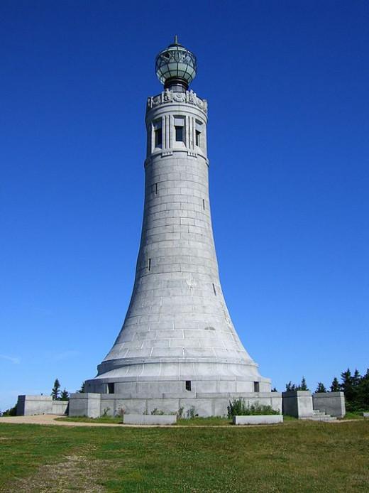 The War Memorial on top of Mount Greylock.