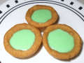 Pot of Luck Cookies, Coffee Cookie Filled with Irish Cream White Chocolate, Egg Free, Plus Gluten Free Variation