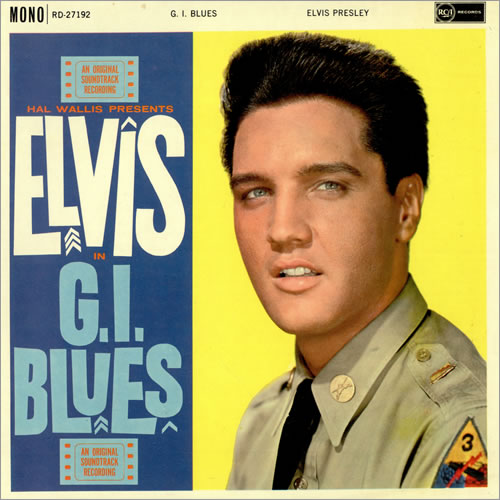 Elvis Gi Blues Record