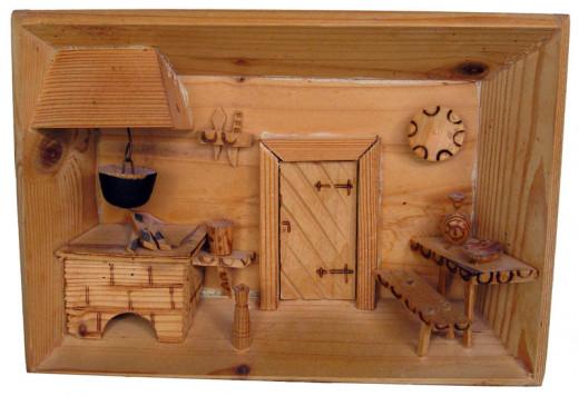 wood works via