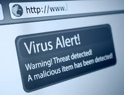 A virus alert or Disk Antivirus Professional