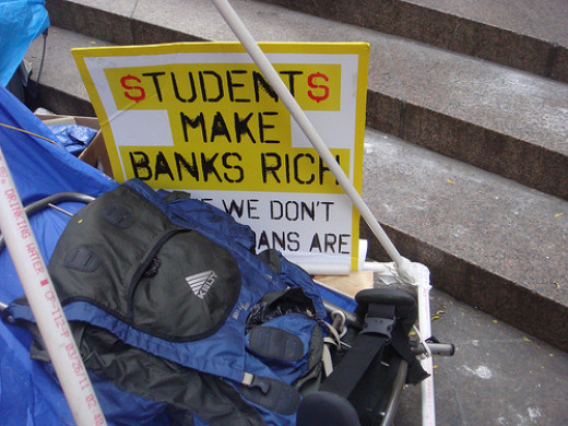 Americans owe $1.2 billion in student loans.