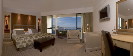 Hotel room TV