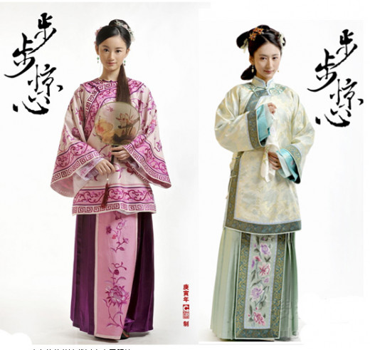 Qifu with Hanfu elements Qi Laies