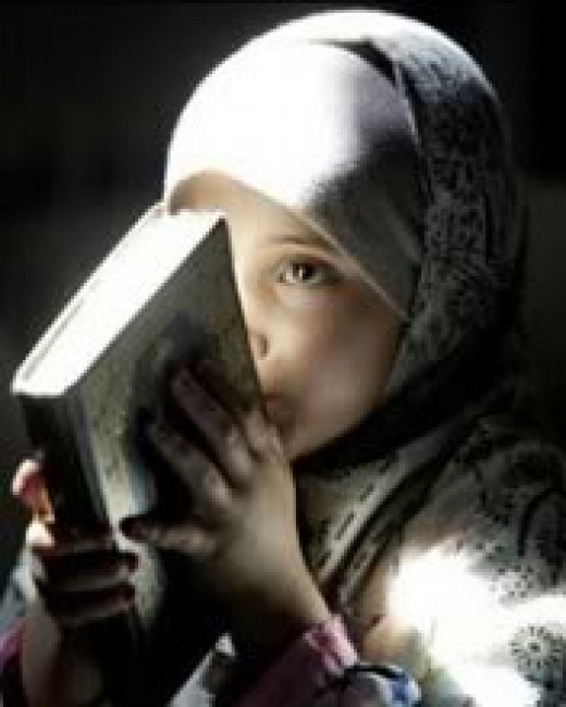In Islamic doctrine a child is born in purity but will deviate according to parentage. In Judeo-christian doctrine a female cannot receive the priesthood.