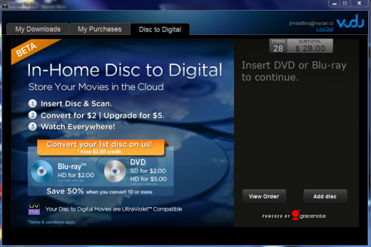 The Disk to Digital Tab