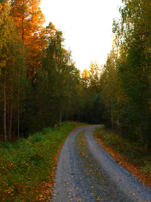 A road I'm walking...