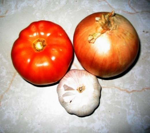 a healthy trio