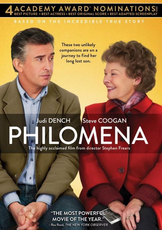 Cover of the movie, 'Philomena