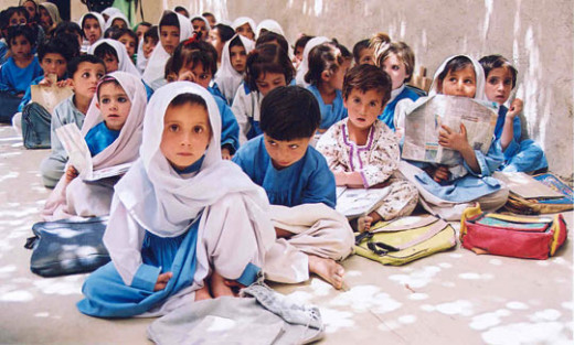 Malala's cause is for these school going kids.
