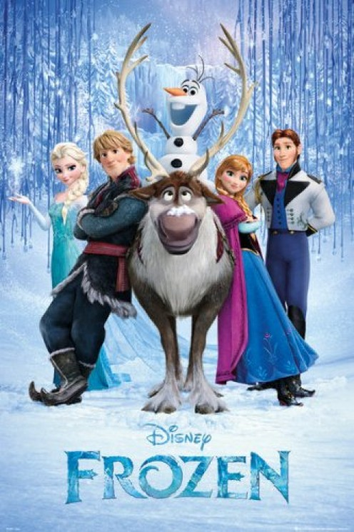 Cover of the movie, 'Frozen'