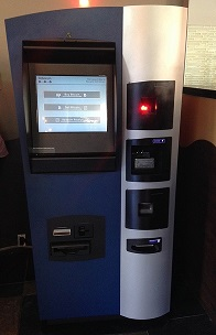 Bitcoin ATM located in Vancouver, British Columbia
