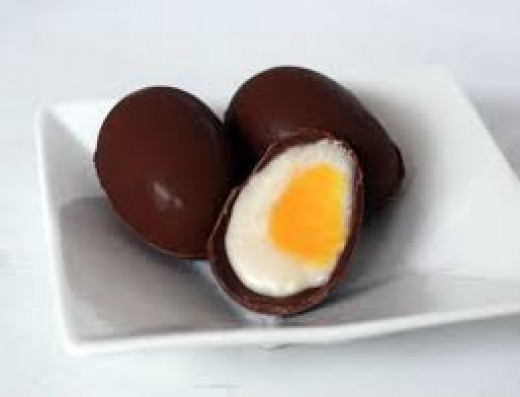 Your homemade creme eggs