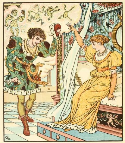 Prince from The Frog Prince (by Walter Crane)