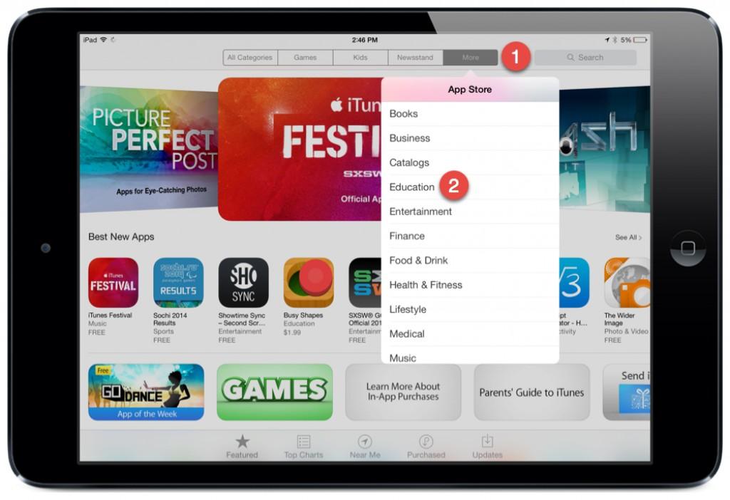 I Pad App Store