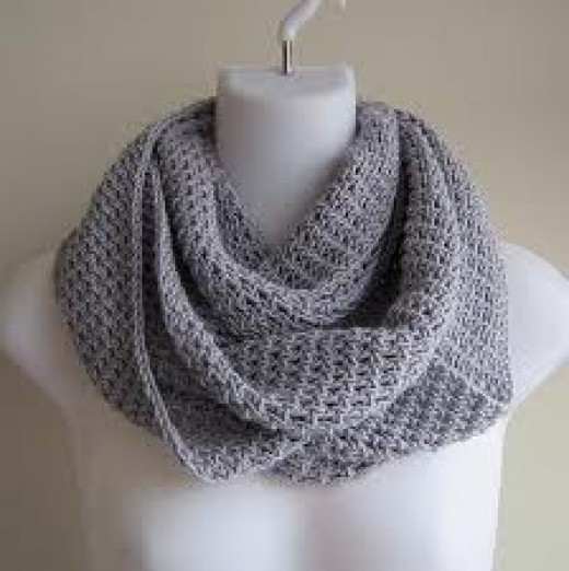 Crochet Scarf Patterns Worsted Weight : Free Crochet Infinity Scarf Patterns hubpages