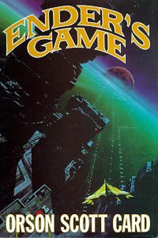 Classic cover art from Enders Game by Orson Scott Card published by Tor books 1985 art by John Harris