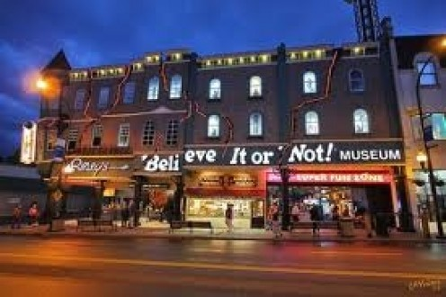 Ripley's Believe It or Not! is a novelty museum located in several states.