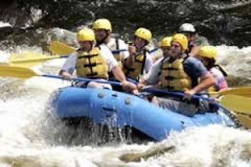 White Water Rafting is a big event in Gatlingurg.