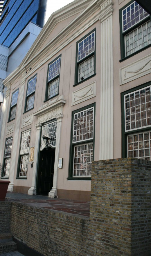 The facade of the Koopmans-de Wet House Museum in 2009