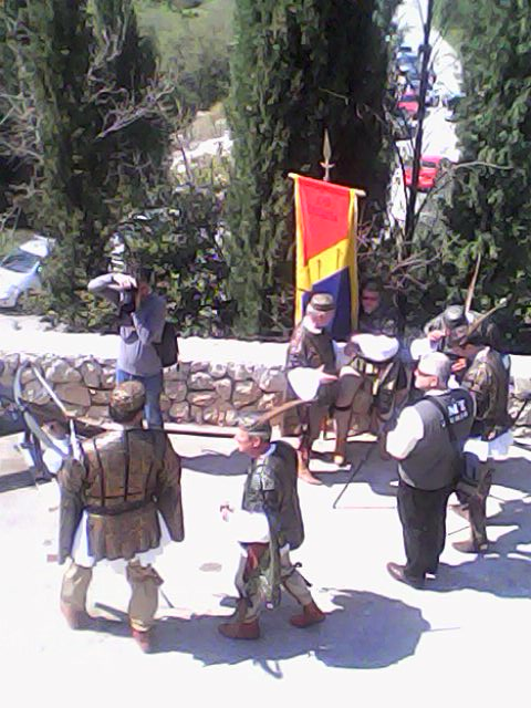 Men ready to shoot their arrows