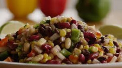 Amazingly Crisp Bean Salad