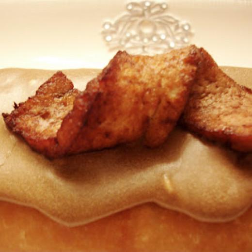 Vegan Bacon Maple Bars